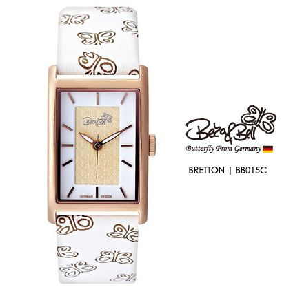BRETTON BB015C   | Meterail:316L Stainless Steel  | Movement: MIYOTA 2035  | Case Size: 22mm×35mm  | Band Size: 184mm  | Band: Butterfly Engraved Genuine Leather  | Glass: Hardened Mineral Crystal  | Water Resistance : 3 ATM