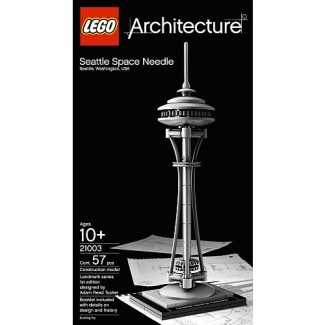 LEGO - Architecture 21003 Seattle Space Needle, LEGO - Architecture Lego - Shop Online for Toys in Australia - Fishpond.com.au
