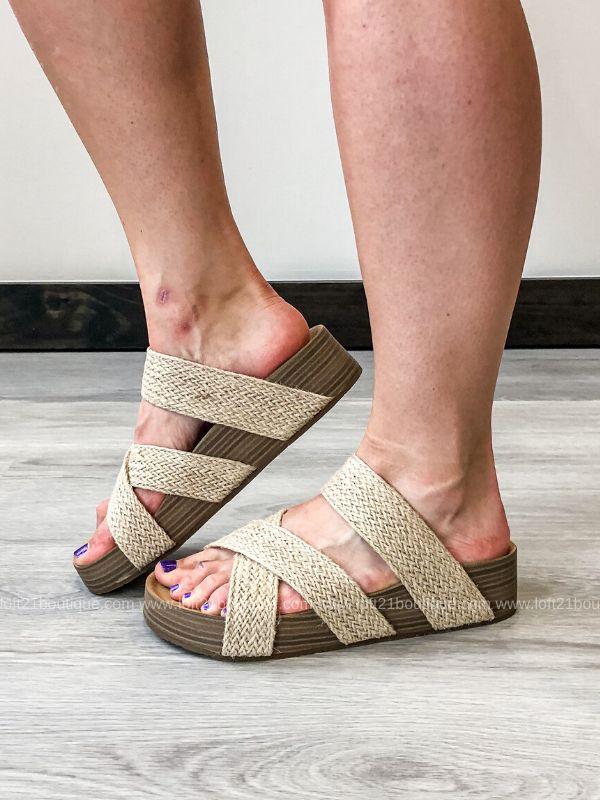 Blowfish Miri Sandals: Natural – Loft21