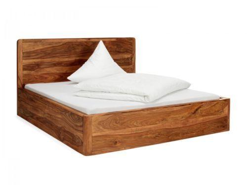 Bett-180x200-Palisander-massiv-Holz-Bett-Doppelbett-Schlafzimmer-Moebel-NEU-DEHLI