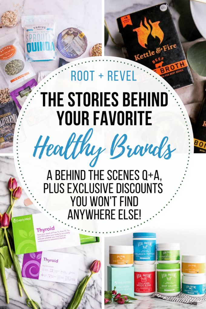 Today, we're interviewing the founders of some of our favorite healthy brands.From nutritious bone broth and collagen to innovative health testing kits to natural meat delivery, read on to discover what inspires these entrepreneurial leaders! #healthyliving #inspiration #entrepreneur