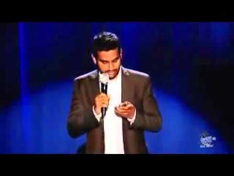 "Aziz Ansari on 'Facebook': ""Fuck you, Harris! I DO EXIST."" Gets me every time."