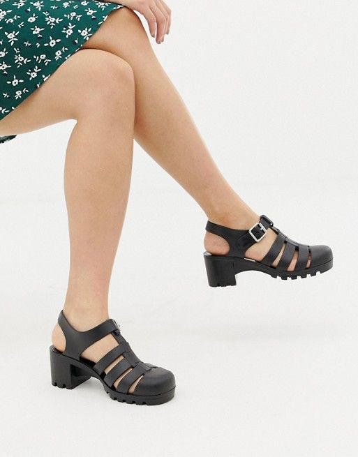 11ee969891b3 DESIGN Flying High fisherman jelly sandals in 2019