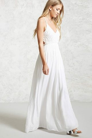 Crochet Cami Maxi Dress