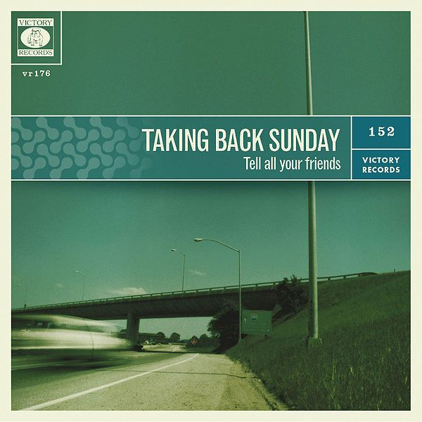 Taking Back Sunday Tell All Your Friends on black
