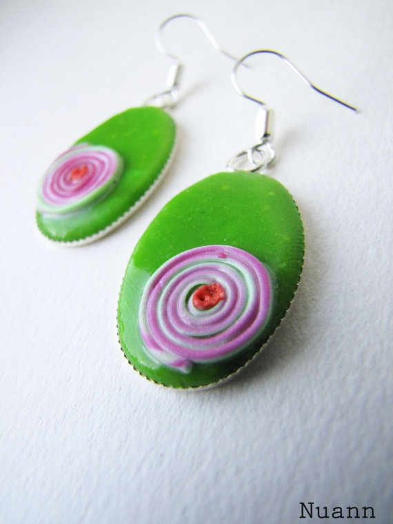 http://www.etsy.com/listing/92284128/green-and-rose-polymer-clay-earrings