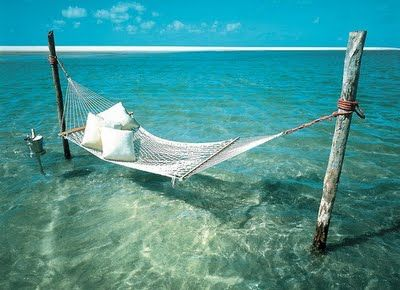 All I want in life is a nice hammock...over the ocean :)