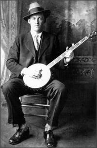 Dock Boggs - A towering old-time music figure and banjo innovator, who played a unique Appalachian folk &  blues hybrid. One of the greatest finger pick in' banjo players of all time.