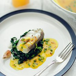 ... delicious food and recipes | Pinterest | Halibut, Steaks and Spinach