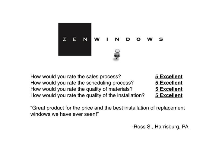 Replacement windows reviews #harrisburg #pa   http://zenwindows.com/locations/replacement-windows-central-pa/