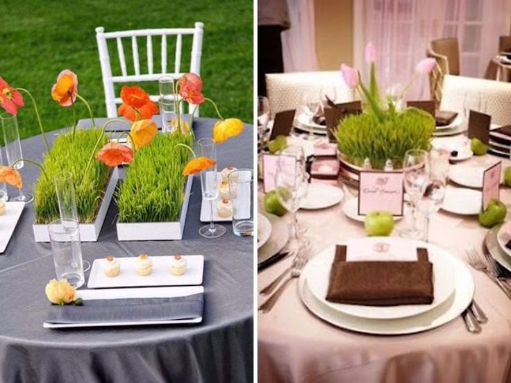 Ideas about grass centerpiece on pinterest
