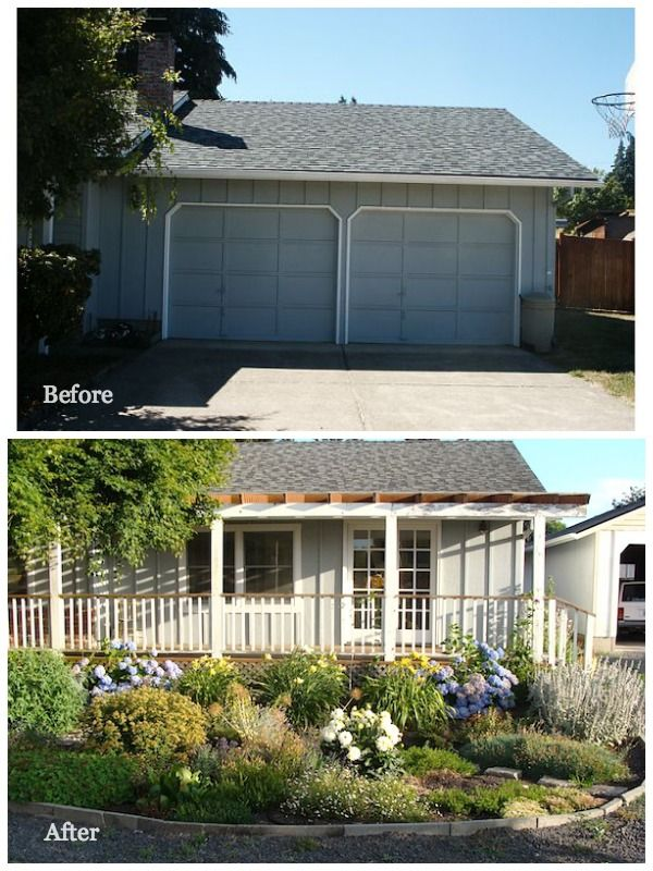 Ranch Exterior Remodeling Before And After