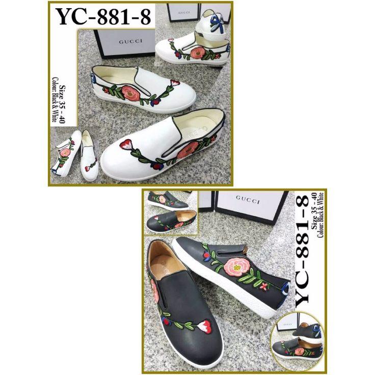 Sepatu Gucci Slip On YC-881-8 35-40 355rb
