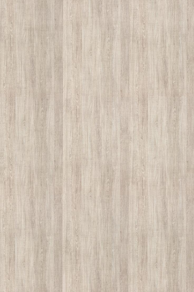 SANTANA - Padrão de madeira rústica e clara, com desenho rico e efeito saw cut, é ideal para ambientes residenciais como dormitórios, cozinhas e homes, podendo ser combinado com madeiras escuras e padrões unicolores.