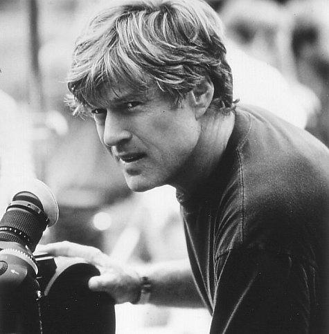 robert redford.  the director.