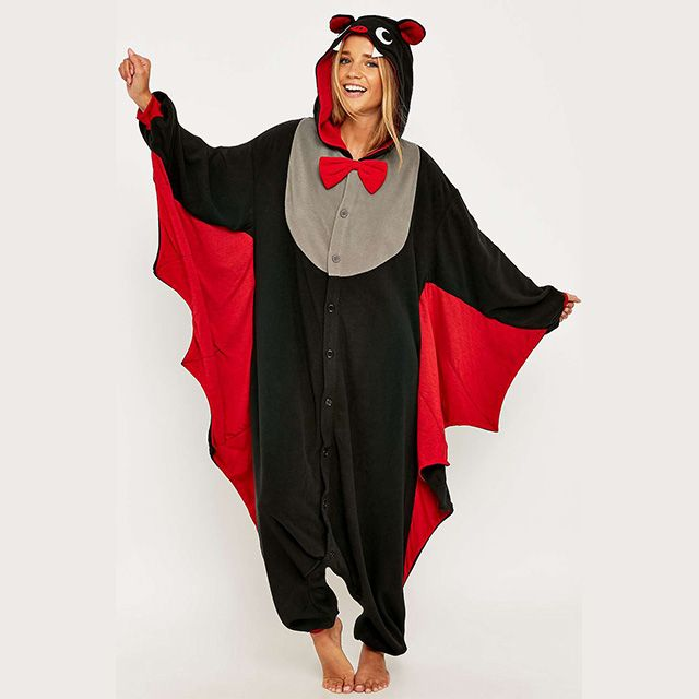 Bat-tacular onesie presented by Kigu is perfect for any nocturnal activity.