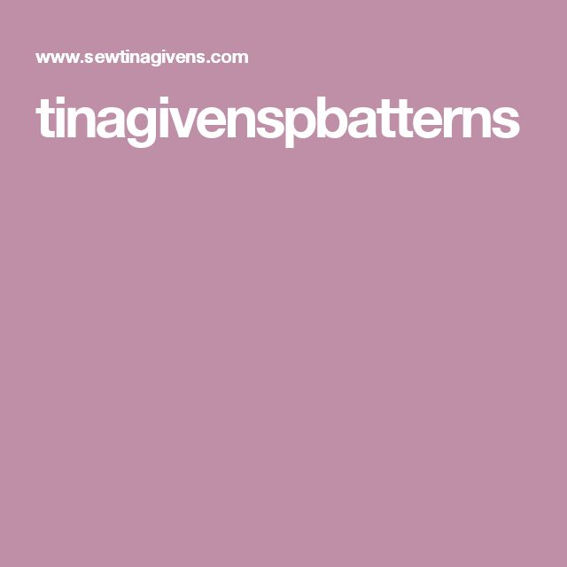 tinagivenspbatterns