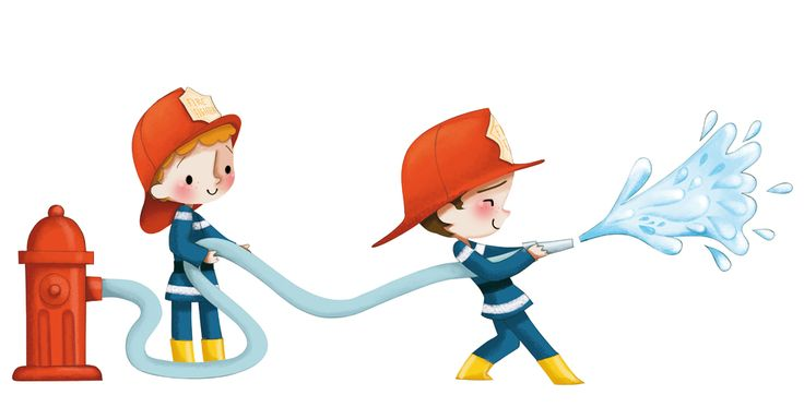 Sticker pompier enfant id e pour chambre pinterest - Chambre enfant pompier ...