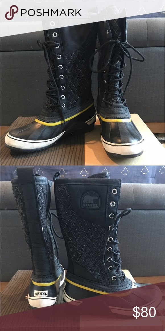 Sorel Snow Boots Only worn a couple times and in great condition. Sorel Shoes Winter & Rain Boots
