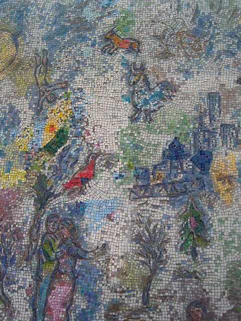 Marc Chagall Mosaic Chicago | Chagall mosaic | Flickr - Photo Sharing!