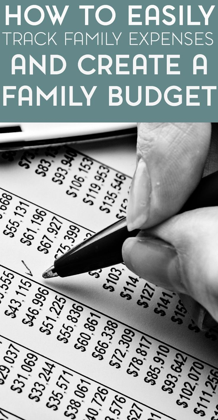 If you're unsure of where to start when it comes to creating a family budget, my free expenses tracker is sure to help.