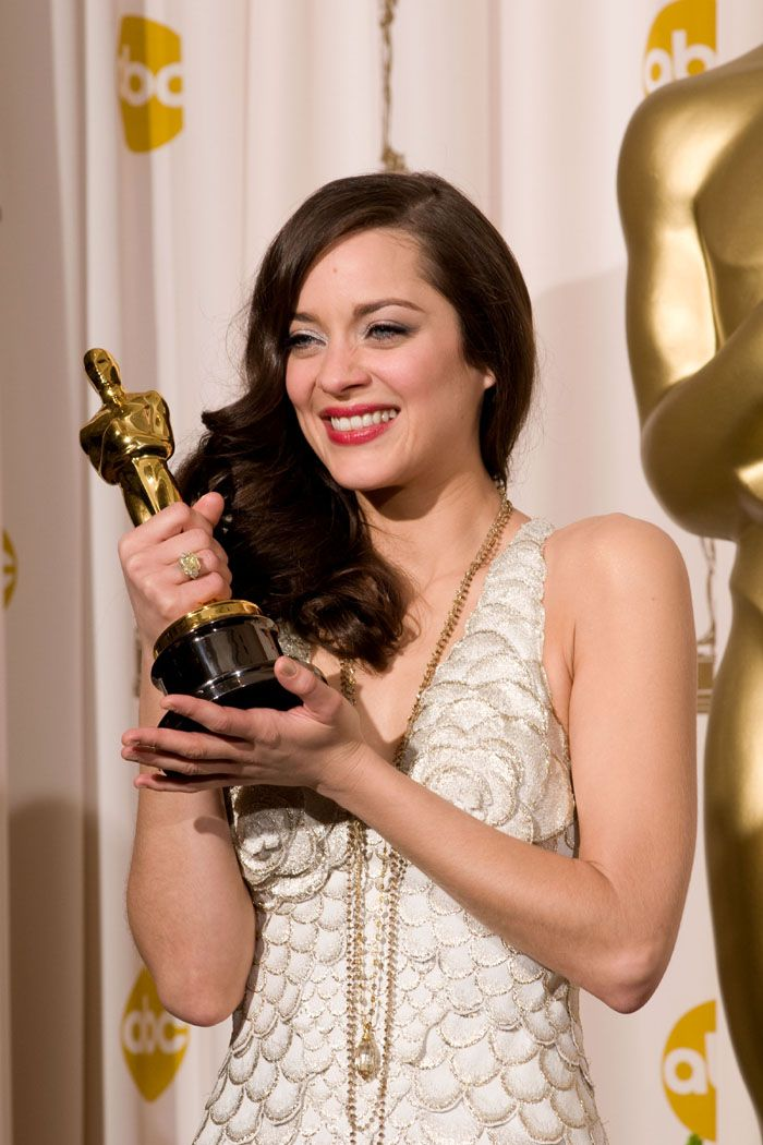 "Marion Cotillard 2007.  Best Actress Oscar winner for her performance in the movie ""La Vie en Rose"""