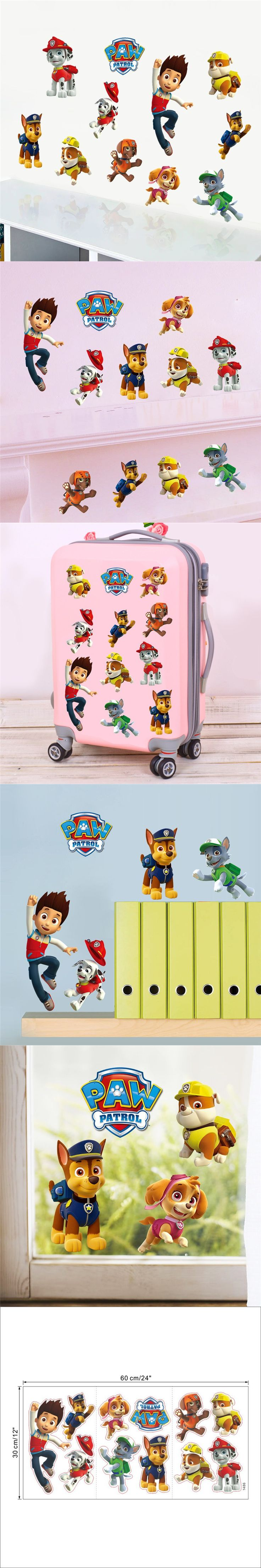 best 25 boys wall stickers ideas on pinterest superhero boys diy american cartoon animal smart dog boy wall sticker for kids rooms decorative baby children bedroom