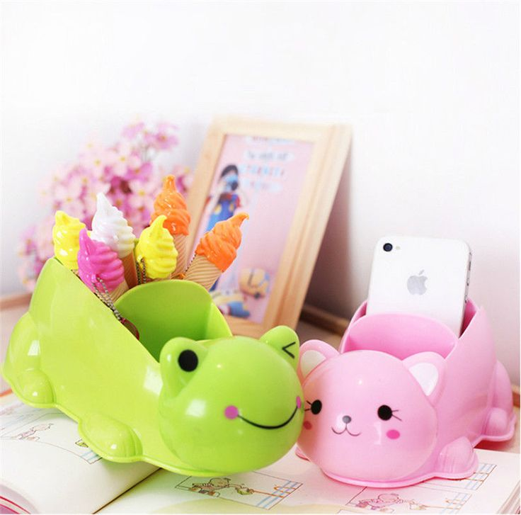 Animal Cat Small Plastic Storage Box Container Organizer Case Craft Tool Storage  | eBay