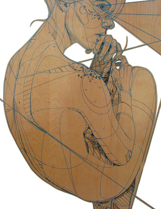 Jason ThielkeWood Art, Drawing Art, Jason Thielke, Graphics Design, Line Drawing, Human Figures, Architecture Drawing, Figures Drawing, Art Illustration