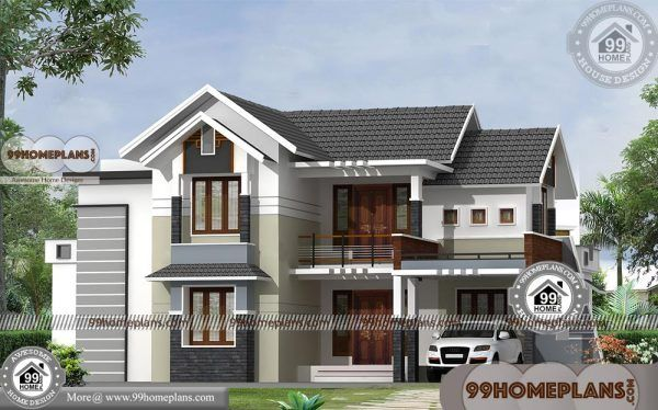 Modern Two Story House Designs With Fusion Style Simple Plan Collection Two Story House Design House Design Simple House Design