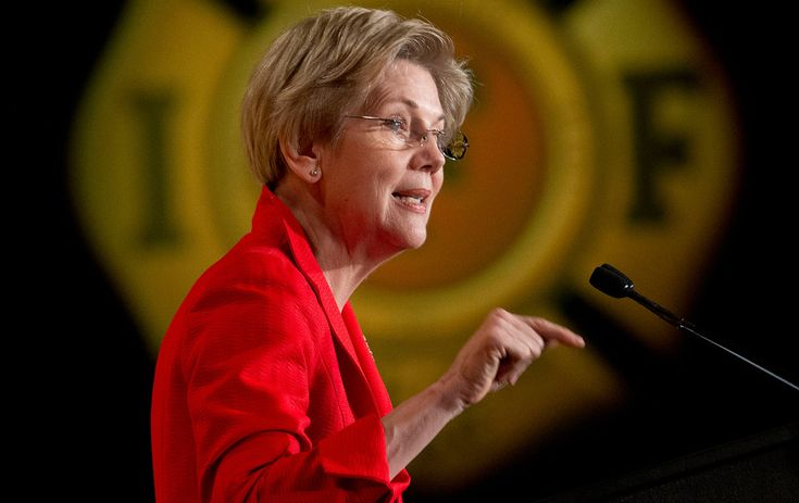 Elizabeth Warren Just Issued a Major Challenge to All Presidential Contenders Warren urges the candidates (read: Hillary Clinton) to push for legislation that would curb Wall Street's influence in politics.