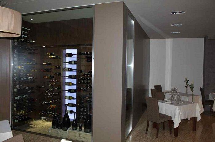 Stanza del vino completa di climatizzatore Esigo - Vicenza