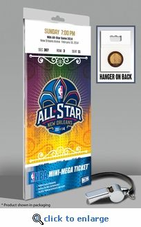 2014 NBA All-Star Game Mini-Mega Ticket, Pelicans Host - MVP Irving, Cavaliers