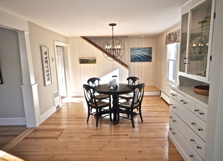 My very first thought when we looked at the house, was that the Dining Room could be beautiful. From the beginning, I could see the Pickwic...