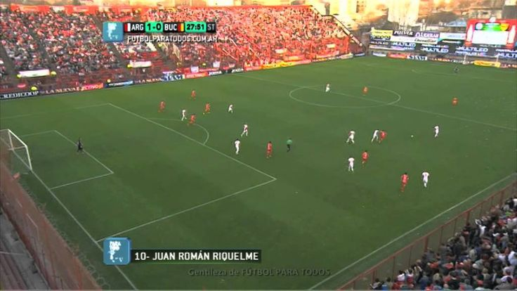 Gol de Riquelme. Argentinos 1 - Boca Unidos 0. Fecha 1. B Nacional. Fútb...