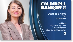 Best Coldwell Banker Business Cards Images On Pinterest - Coldwell banker business card template