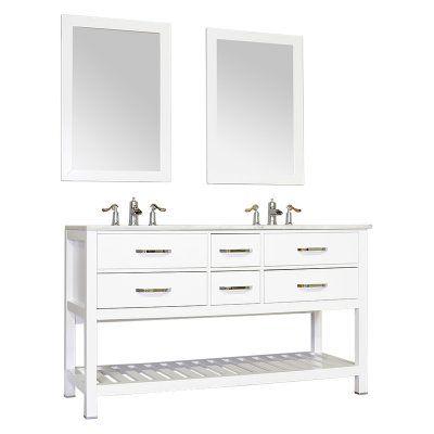 vanity fw 8017 60 b nt dbl bmt nm bathroom vanities without tops