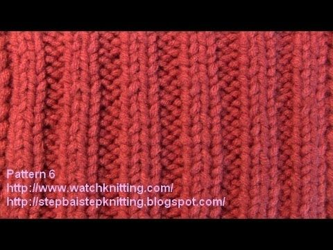 Jerseys Patterns - Free Knitting Patterns Tutorial - Watch Knitting - pattern 6