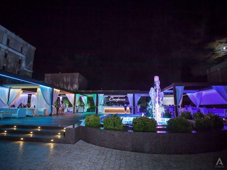 дизайн ресторана, дизайн интерьера кишинев, дизайн террасы, музыкальный фонтан кишинев