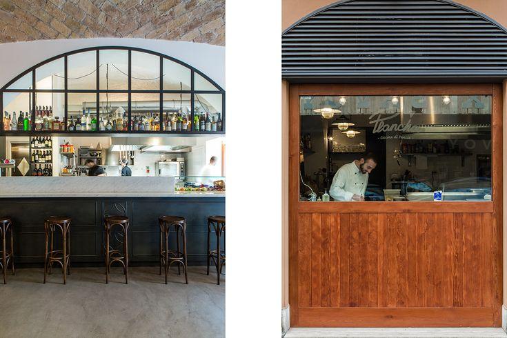 PLANCHA restaurant. Rome  STRATO www.fraschettitattolo.it
