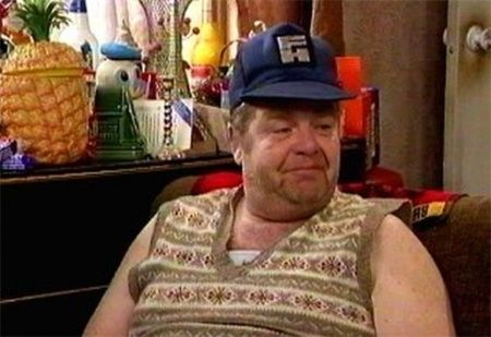 Actor Geoffrey Hughes, shown here in his role as Onslow, has died following a battle with cancer, his friend and colleague Ricky Tomlinson confirmed to ITV news.    The 68-year-old was well known and much loved for his portrayal of slobbish Onslow in Keeping Up Appearances, and Twiggy in the Royle Family as well. He also played Eddie Yates In Coronation Street.  (July 29, 2012)
