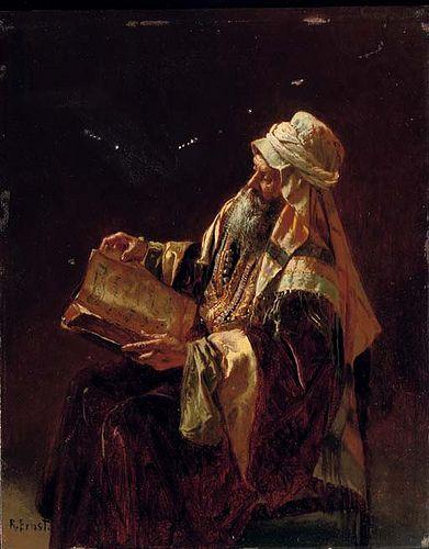 Ernst, Rudolf (1854-1932) - The Scholar (Christie's London, 2007) @@@@......http://www.pinterest.com/nikitaidou/art-orientalism/