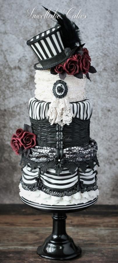 Victorian gothic cake - Cake by Tamara