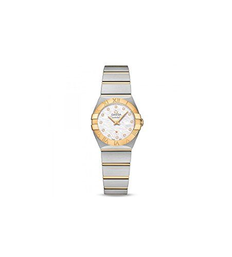 Omega Constellation Mother of Pearl Dial Ladies Watch 123.20.24.60.55.008 -- Cli...