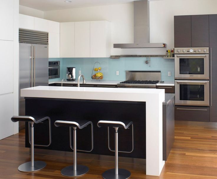 Thick Countertops Waterfall Countertop For The Home