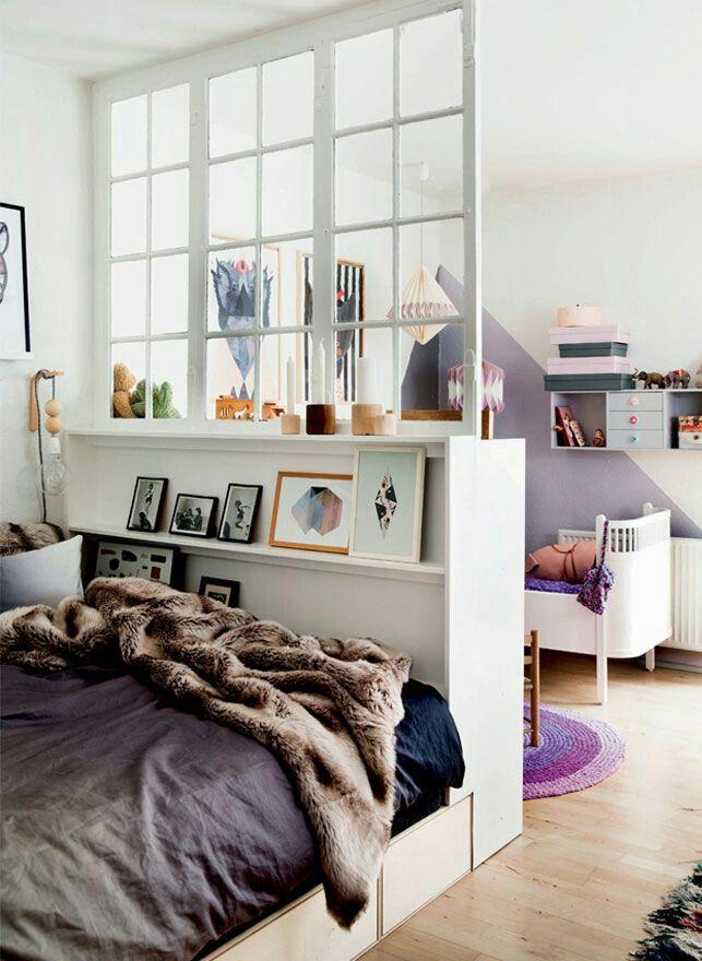 Hipster bedroom interior design                                                                                                                                                      More