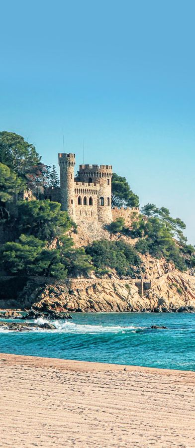 San Juan Castle, Lloret de Mar, Gerona, Spain