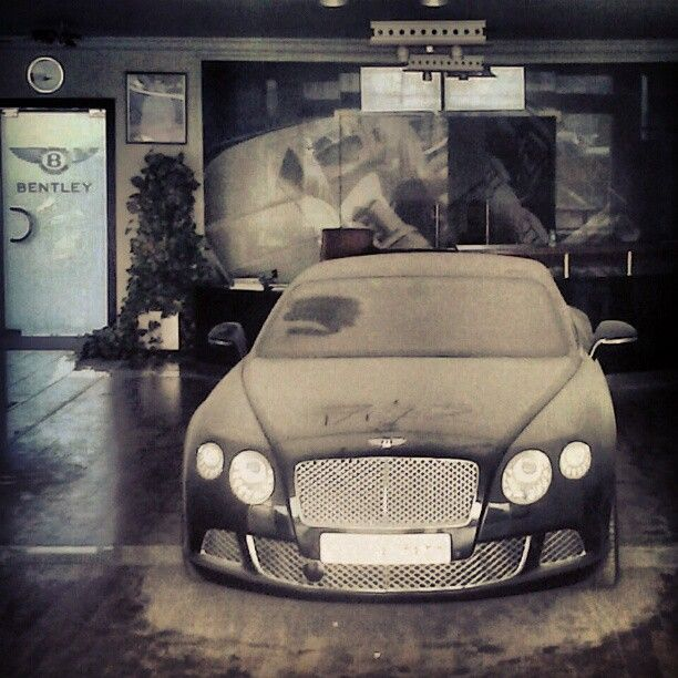 Abandon Bentley Dealership....  I'll take it if nobody else wants it......