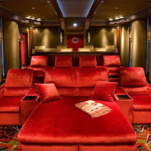 1541 best images about Home Theater Design on Pinterest