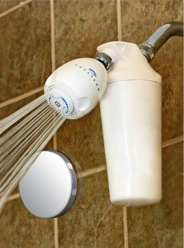 Aquasana Deluxe Shower Water Filter System With Adjustable Showerhead